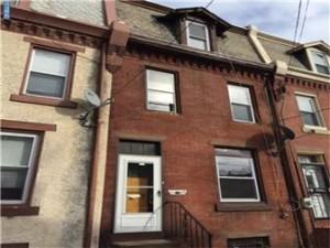 East Falls Row- Investor Opportunity- SOLD- $120,000
